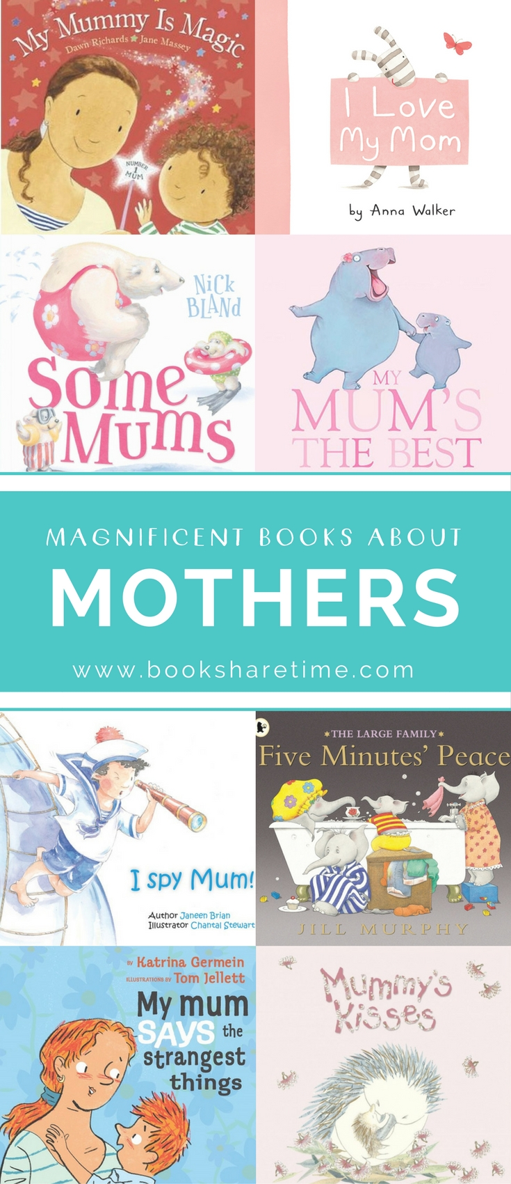 Delightful picture books that celebrate the precious love between a mother and child. Perfect for Mother's Days gifts and cozy bedtime reading.