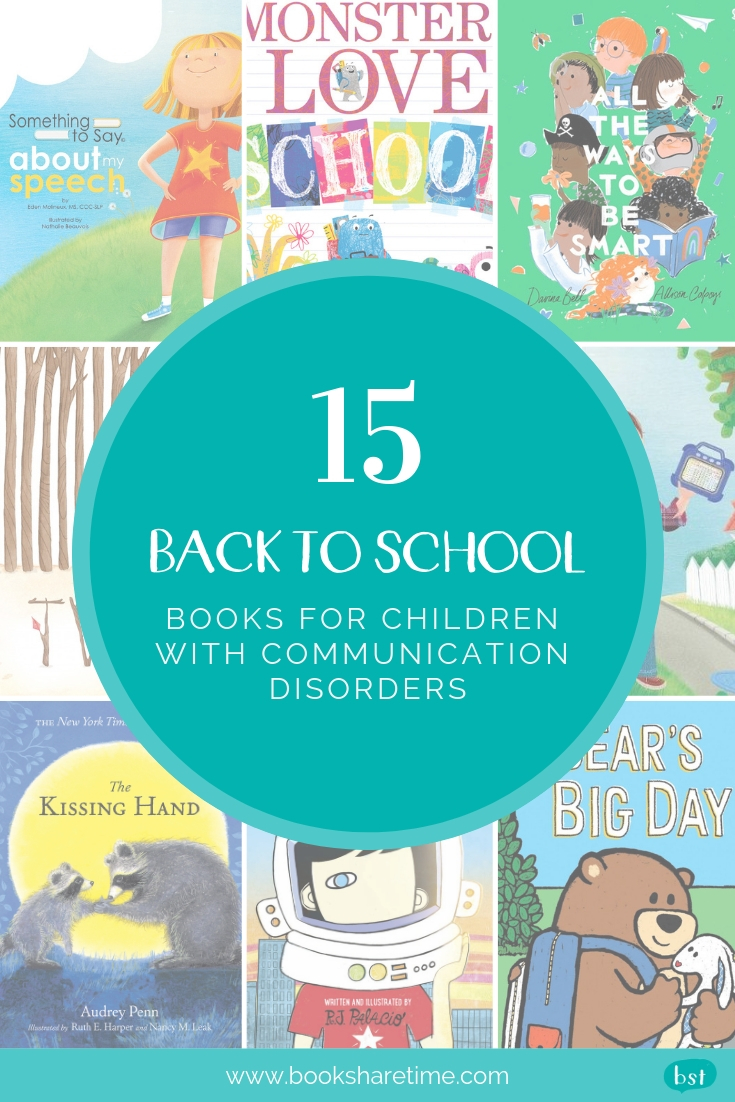 Back to School Books for Children with Communication Disorders