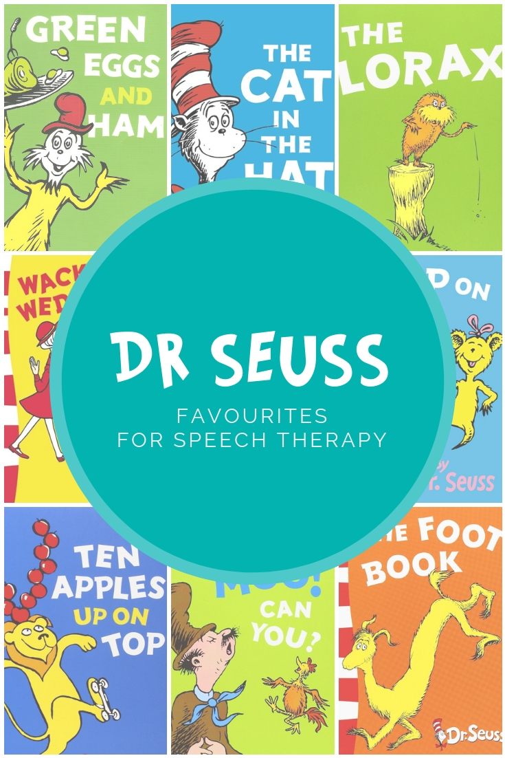 Dr Seuss Favourites for Speech Therapy