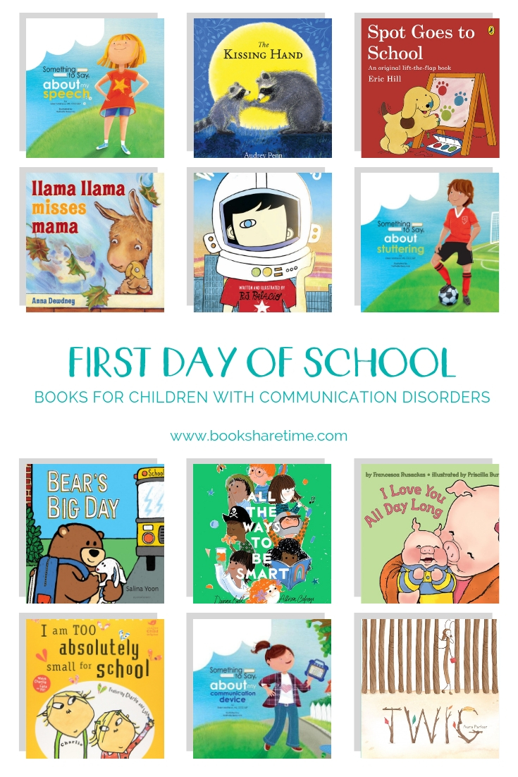 First Day of School Books for Children with Communication Disorders