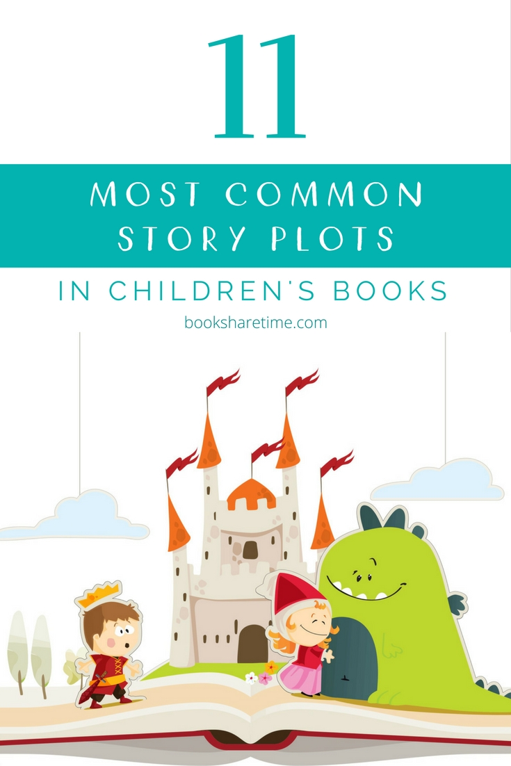 11 most common story plots in children's books