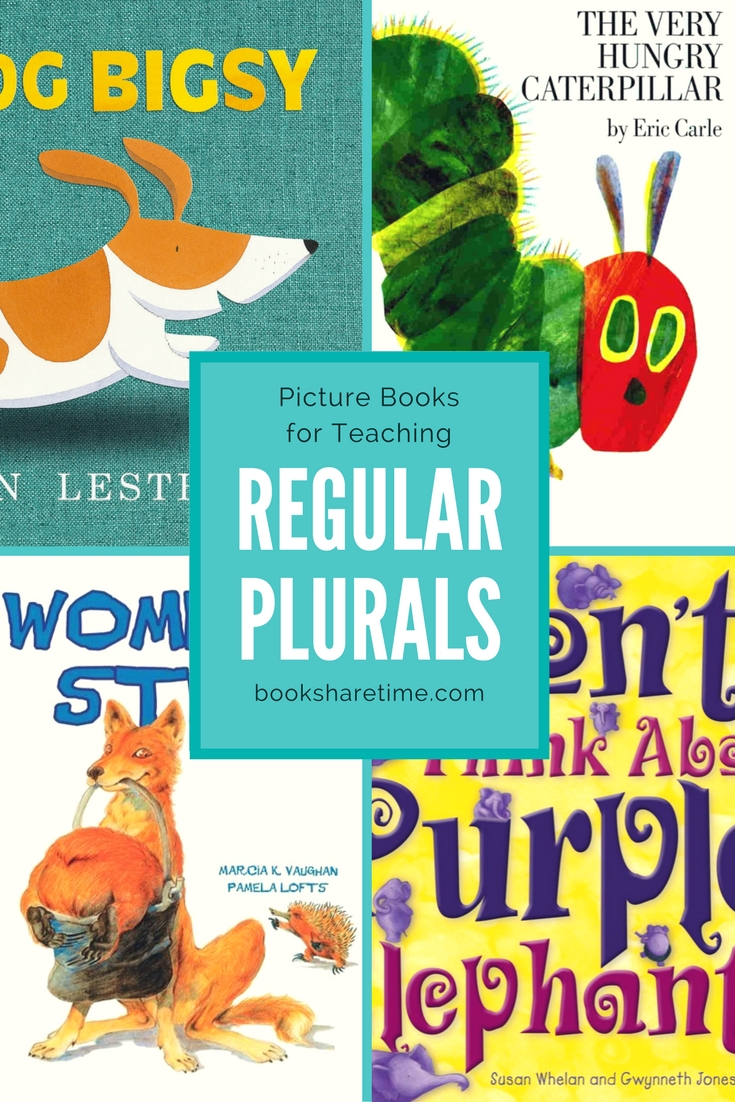 Picture Books for Teaching Regular Plural Nouns