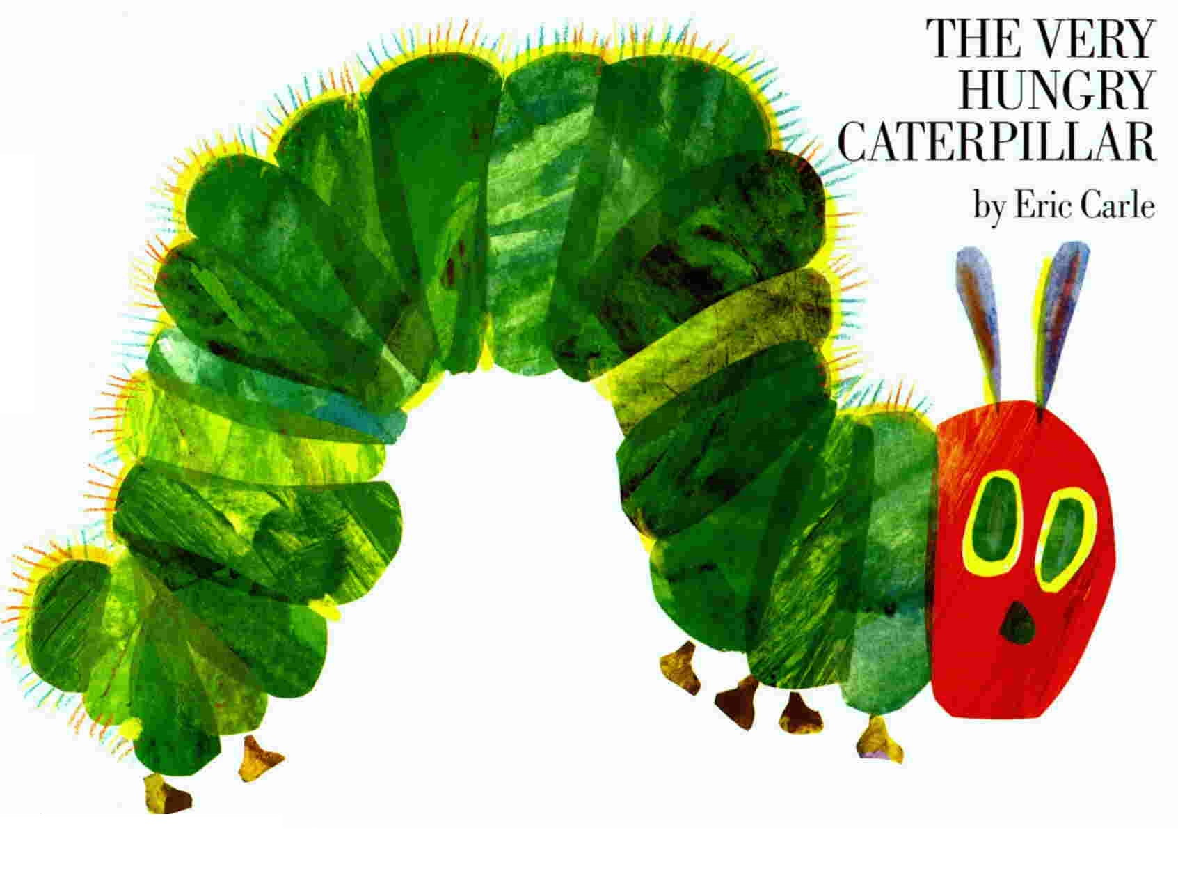Very Hungry Caterpillar by Eric Carle cover image
