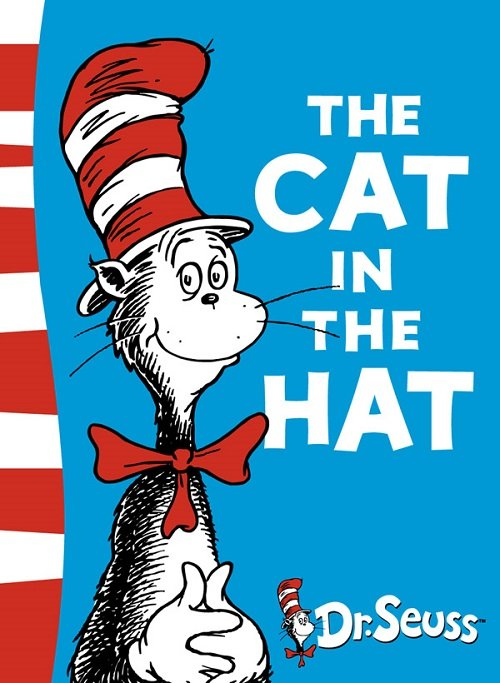 Dr Seuss Books The Cat In The Hat Text